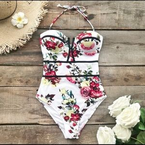New beautiful one piece bathing suit